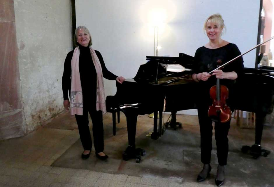 Monika Thiery (Klavier) & Sylvia Schade