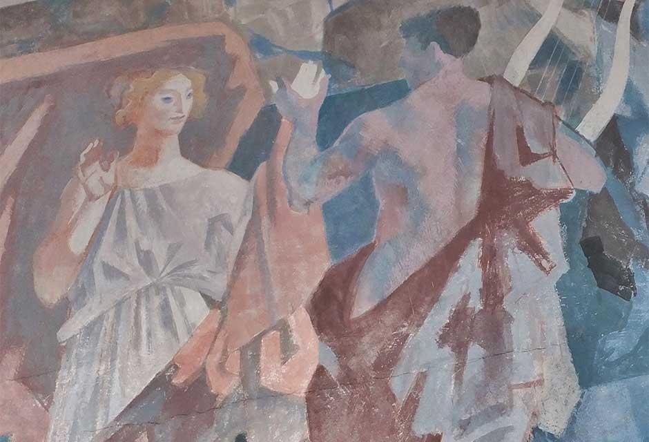 Orpheus und Eurydike im Trausaal